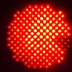 Red Light Emiting Diode Lamp